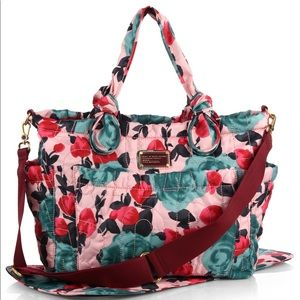 Marc By Marc Jacobs Eliz-a-baby Floral Diaper Bag